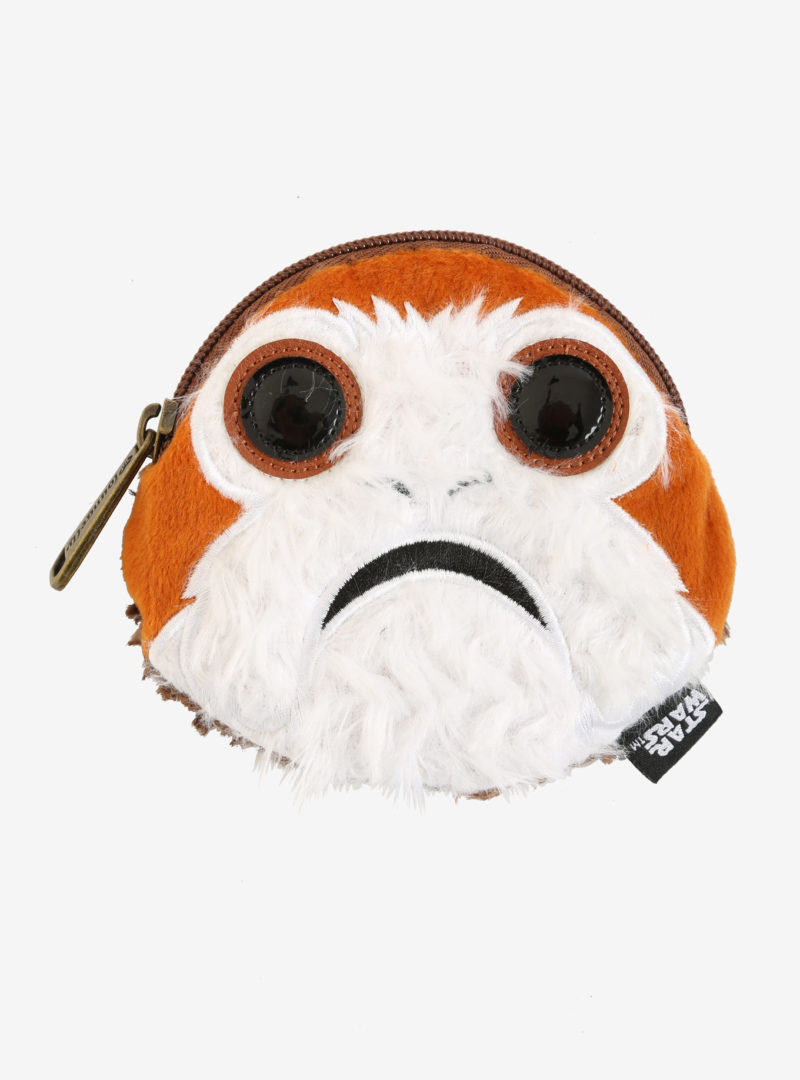 Loungefly x Star Wars The Last Jedi porg coin purse at Her Universe