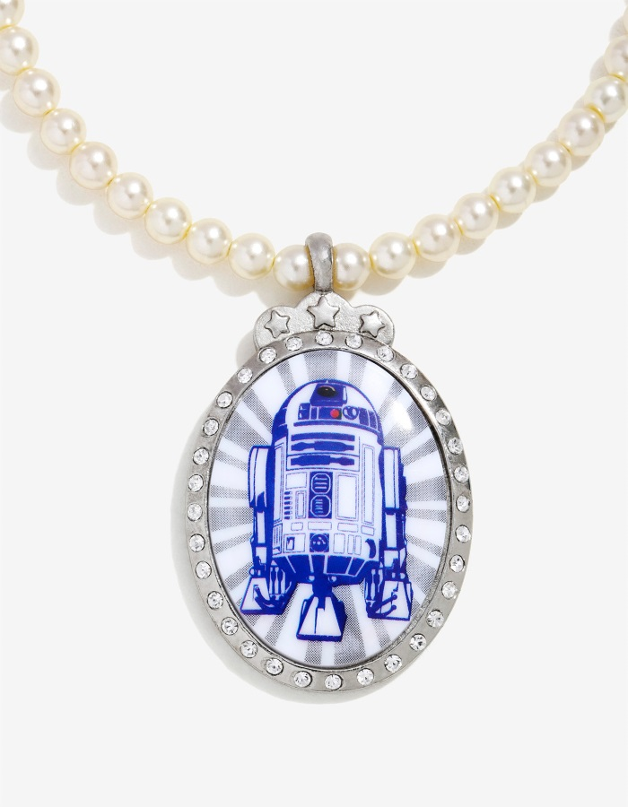 Her Universe x Star Wars R2-D2 Royal Pearl necklace