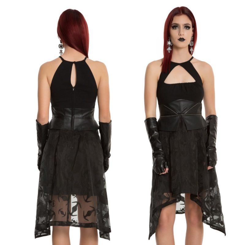 Star Wars Darth Vader sharkbite peplum dress at Hot Topic