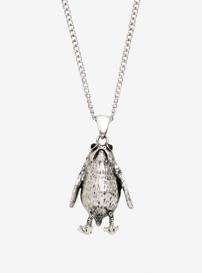 Star Wars The Last Jedi porg necklace at Hot Topic