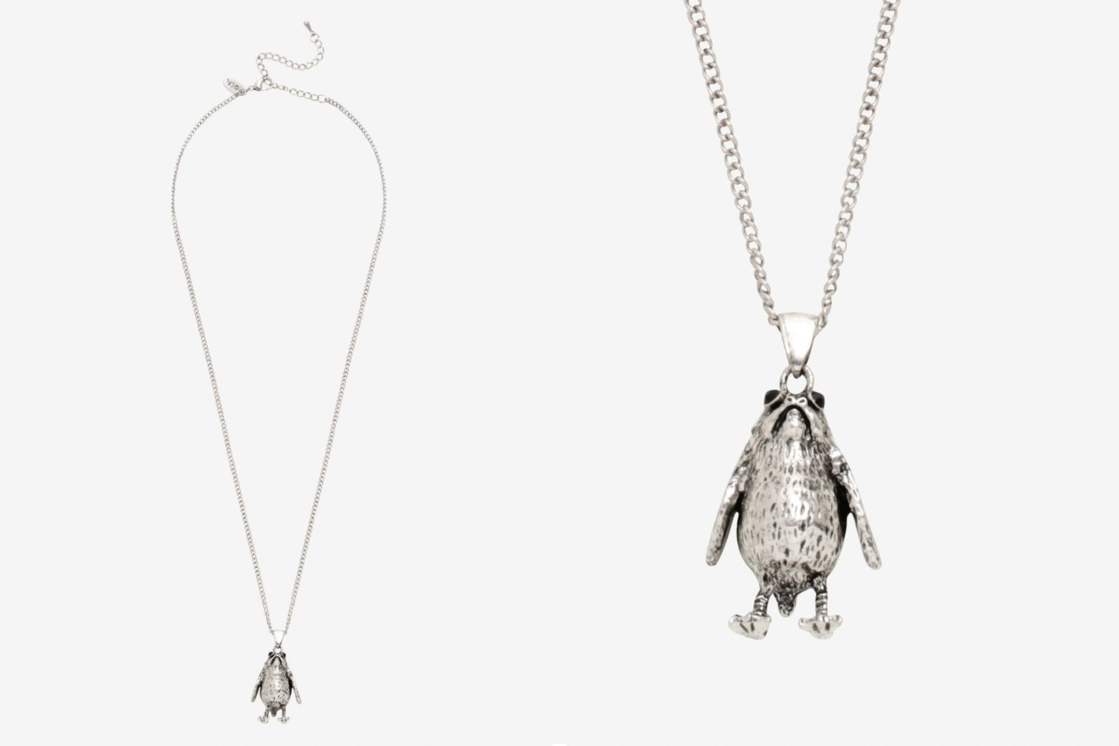 The Last Jedi Porg Necklace at Hot Topic