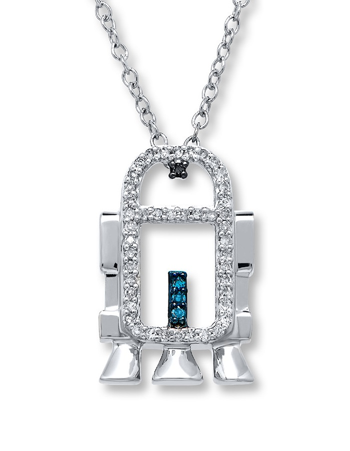 Kay Jewelers x Star Wars R2-D2 necklace