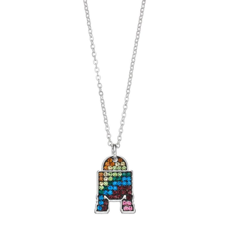Star Wars R2-D2 crystal necklace at Kohl's