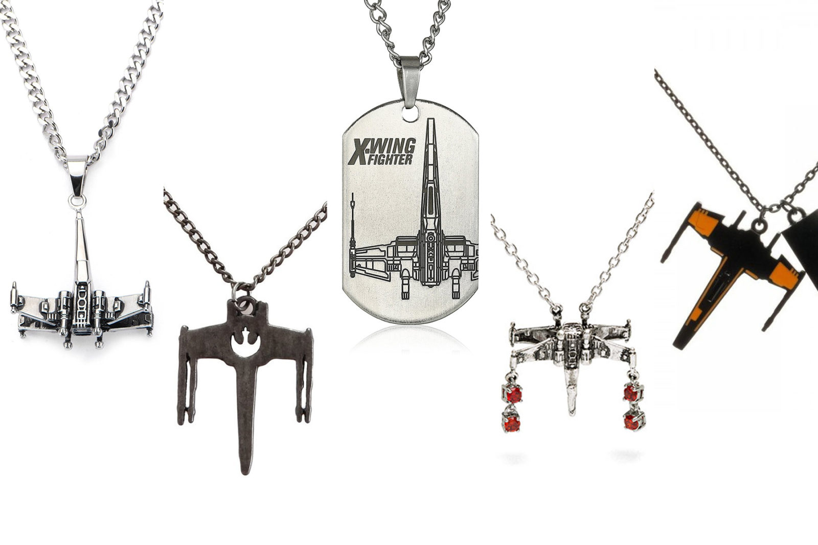 Leia's List – X-Wing Fighter Necklaces