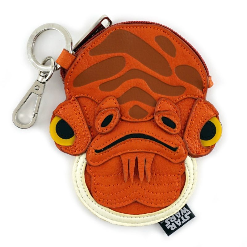 Loungefly x Star Wars Admiral Ackbar faux leather coin purse