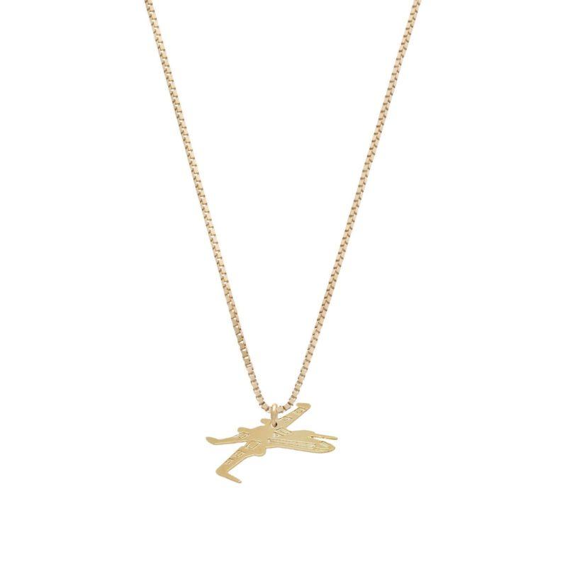 Malakai Raiss x Star Wars X-Wing Fighter necklace