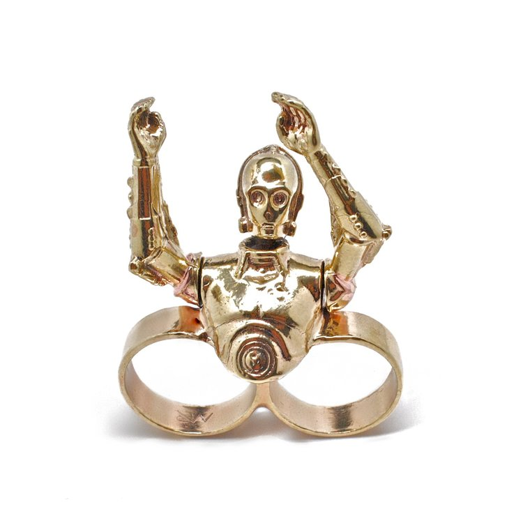 Star Wars character rings by Michael Raymond Jewelry
