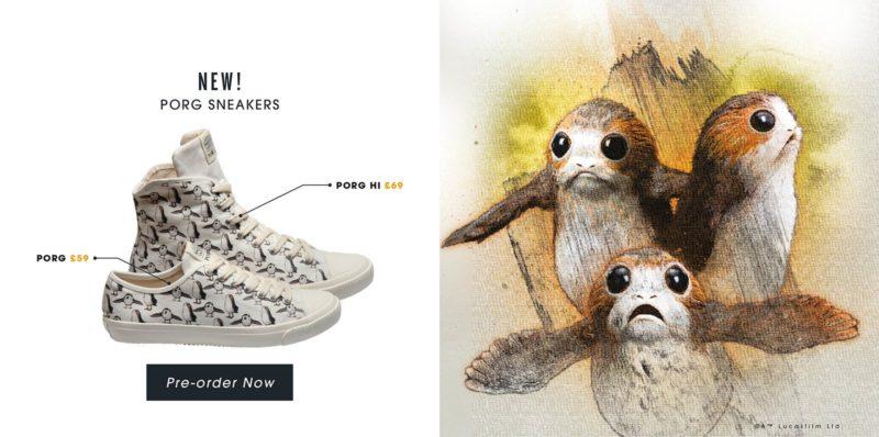 Po-Zu x Star Wars The Last Jedi Porg sneakers