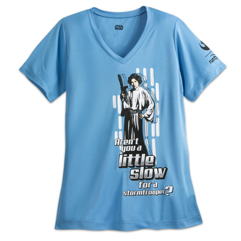Women's Run Disney Star Wars Princess Leia t-shirt at Shop Disney