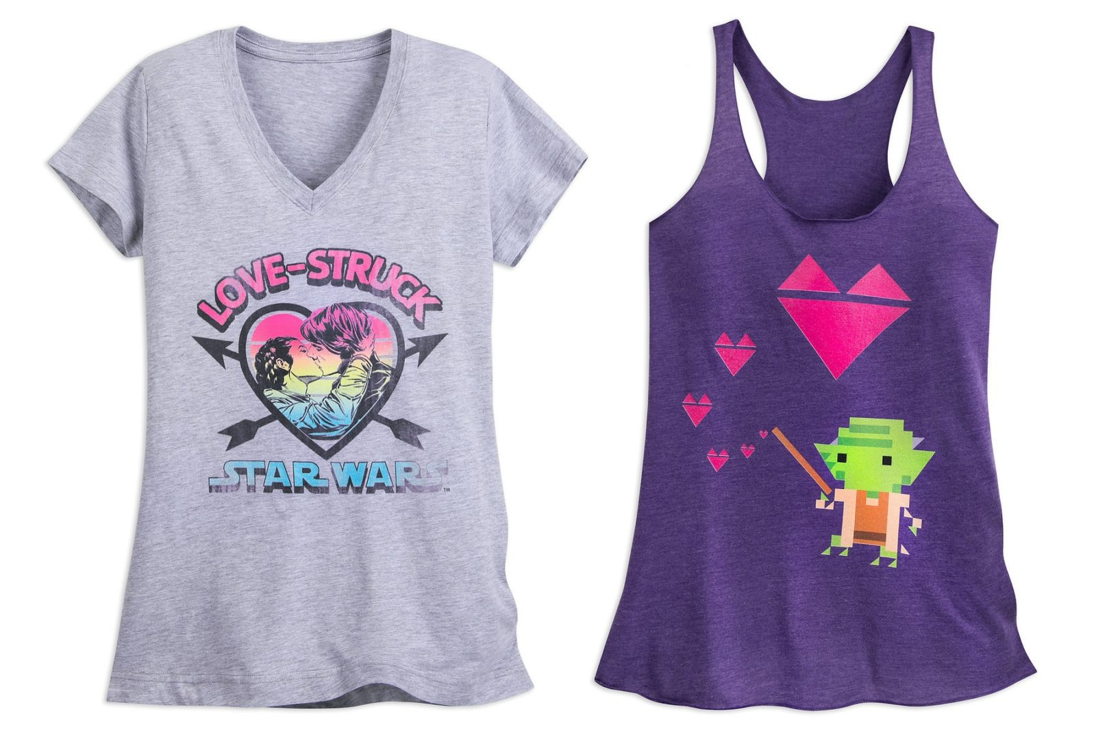 Shop Disney Star Wars Tops for Valentines Day