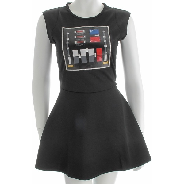 Star Wars Darth Vader mesh-back cosplay dress at StylinOnline
