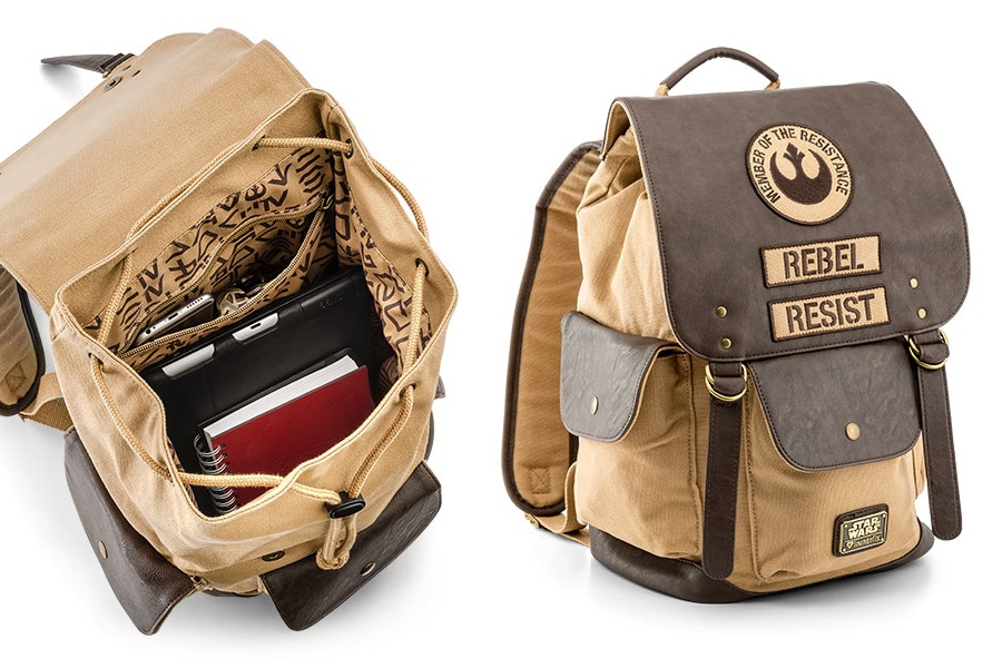 ThinkGeek Exclusive Loungefly Rebel Backpack