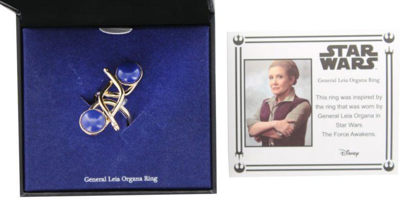 Body Vibe x Star Wars General Leia Organa ring jewelry