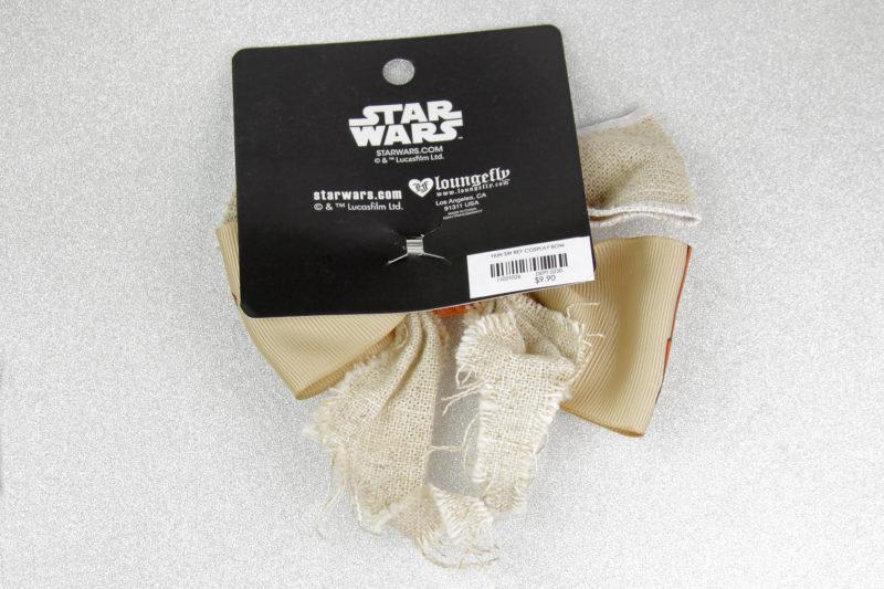 Loungefly x Star Wars The Force Awakens Rey Jakku cosplay style hair bow