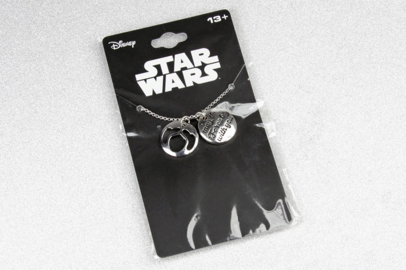 Star Wars Princess Leia Stacked Pendants Necklace at ThinkGeek