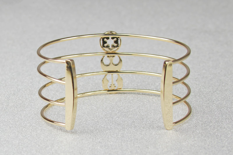 Women's Body Vibe x Star Wars Symbols Cuff Bracelet available at ThinkGeek