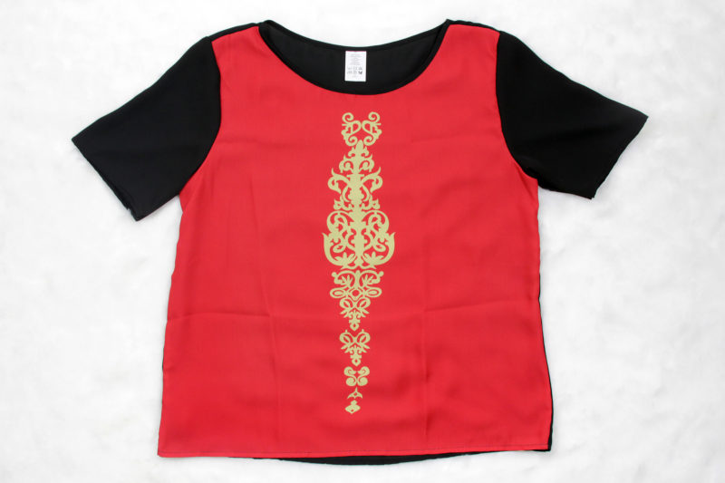Star Wars Queen Amidala inspired chiffon top by Fashions For Fans on RedBubble