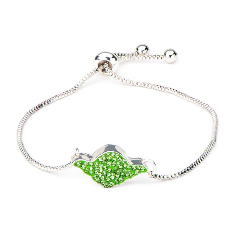 Body Vibe x Star Wars Sterling Silver Yoda Crystal bracelet on Amazon