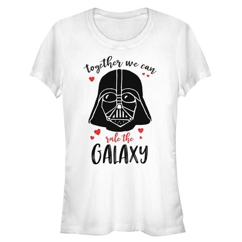 Women's Fifth Sun x Star Wars Valentines' Day themed t-shirts and tank tops