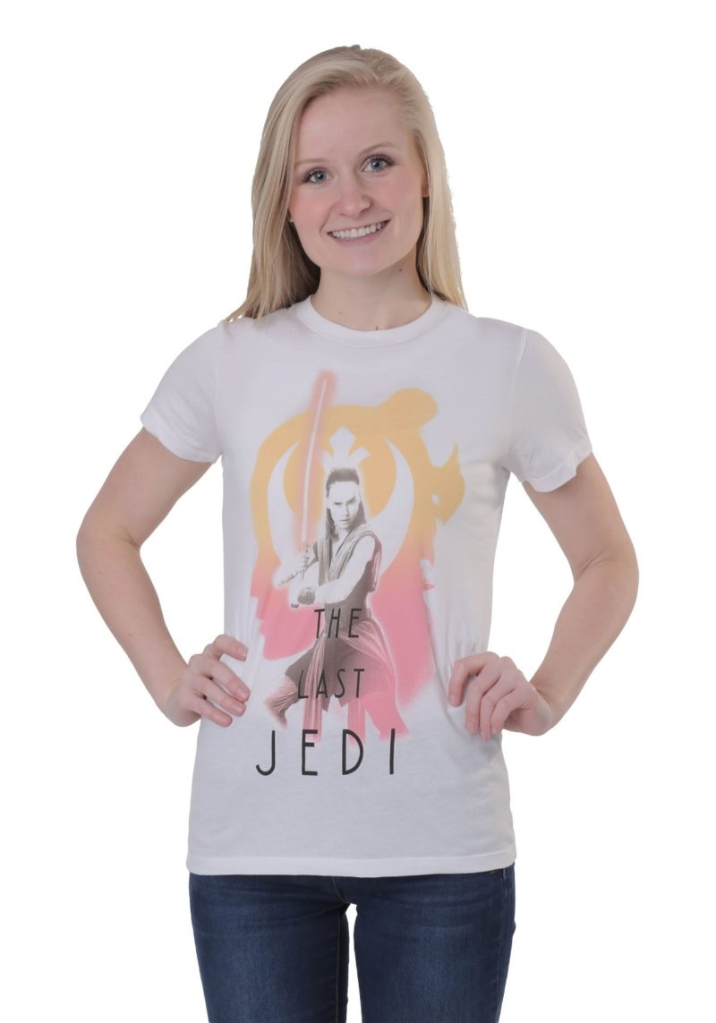 Women's Star Wars The Last Jedi Rey t-shirt at Fun