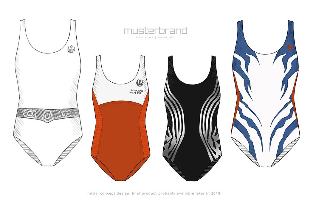 New Musterbrand x Star Wars Swimwear