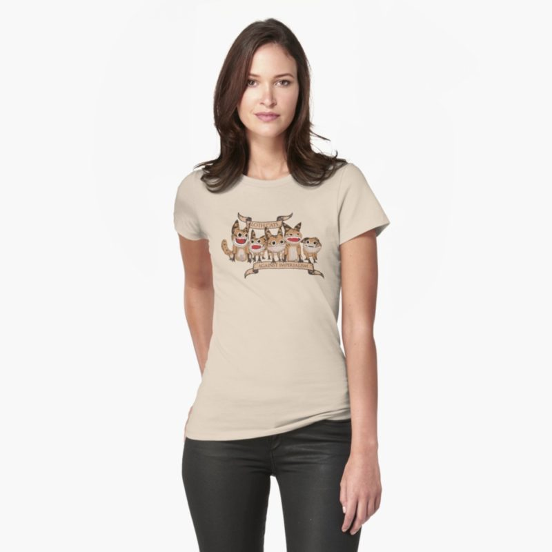 Women's Star Wars Loth-Cats t-shirt at RedBubble