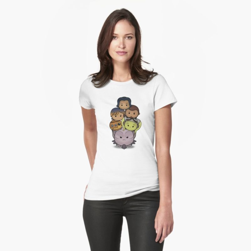 Women's Star Wars Rebels Team t-shirt at RedBubble