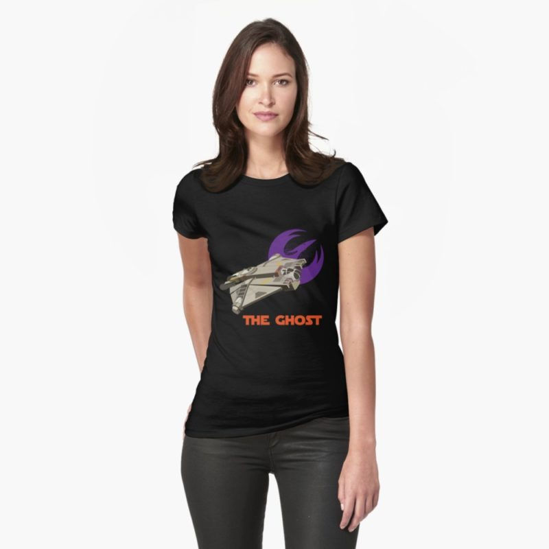 Women's Star Wars Rebels The Ghost t-shirt at RedBubble