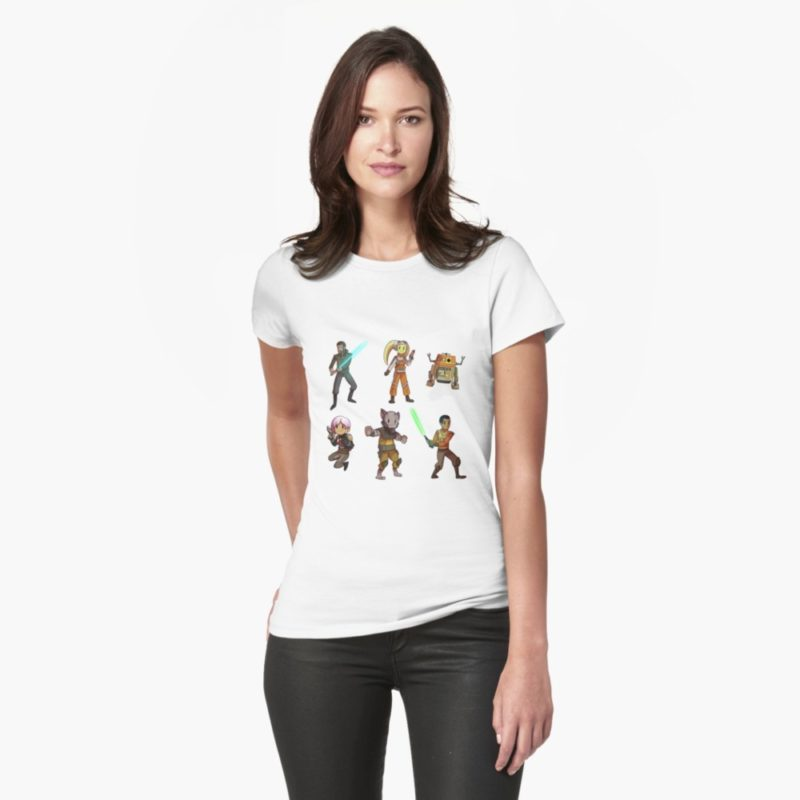 Women's Star Wars Rebels Ghost Crew t-shirt at RedBubble
