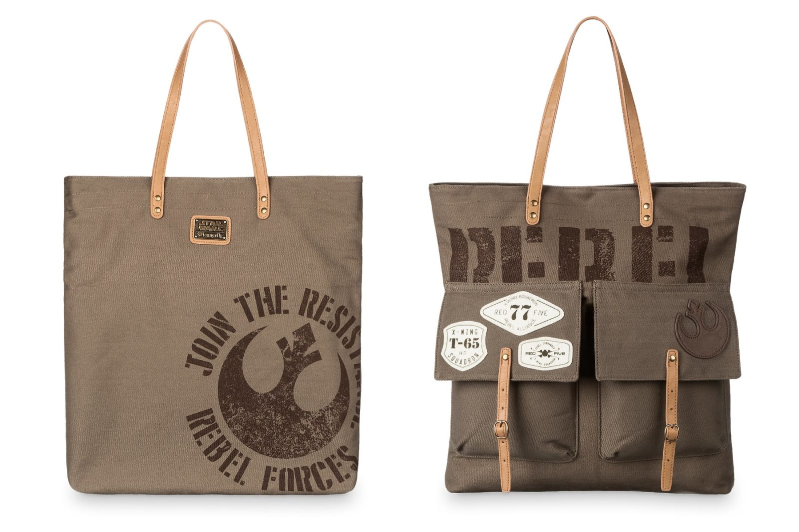 Loungefly Rebel Tote Bag at Shop Disney