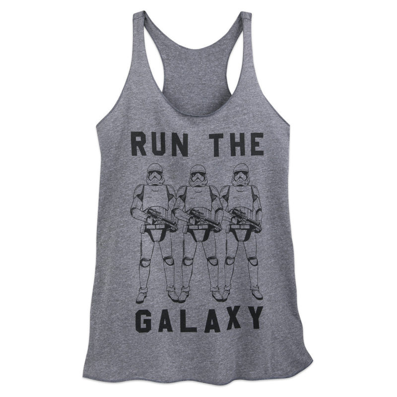 Women's Star Wars First Order Stormtrooper Run The Galaxy tank top at Shop Disney