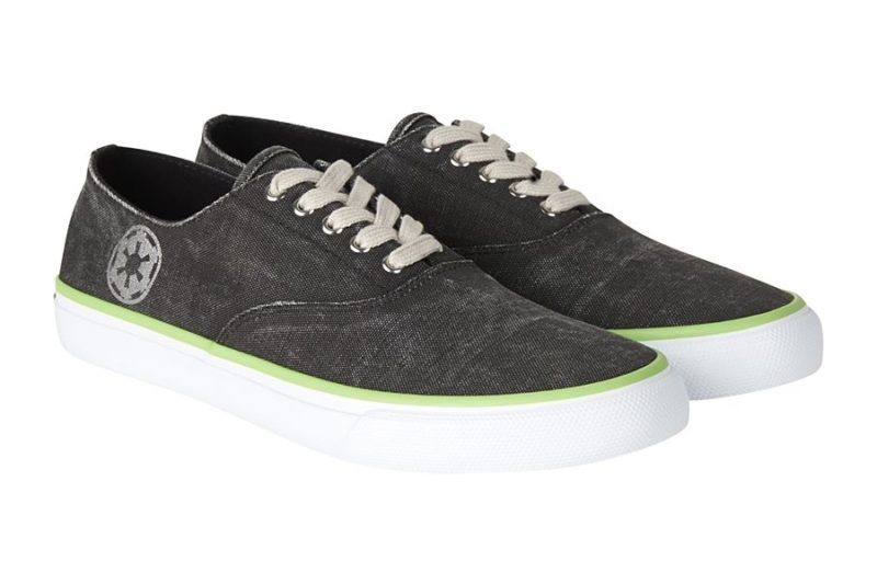 New Sperry x Star Wars Footwear Collection Now Available - Death Star Cloud CVO Shoe