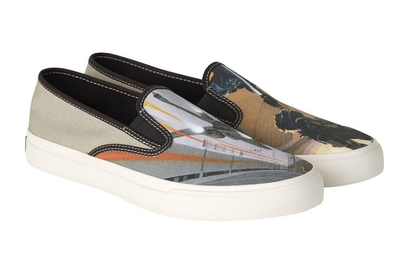 New Sperry x Star Wars Footwear Collection Now Available - Ralph McQuarrie Artwork Cloud Slip-On Shoe