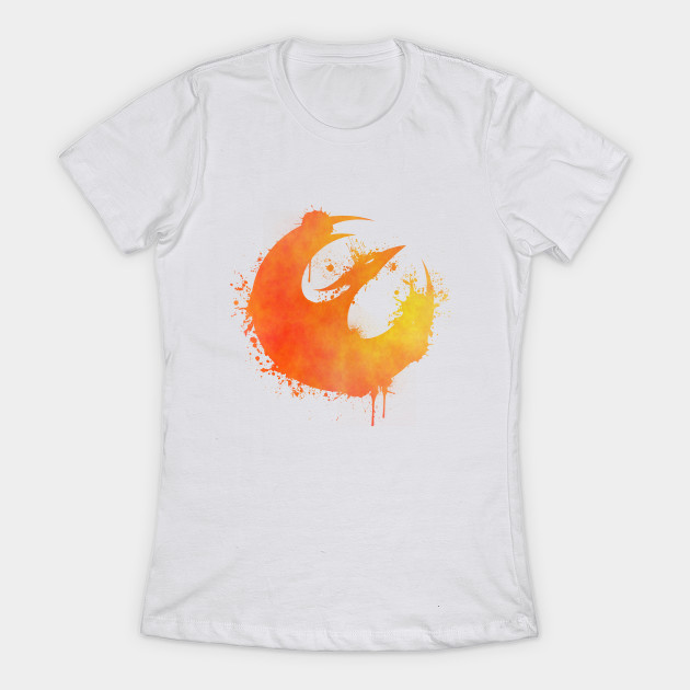 Women's Star Wars Rebels Starbird symbol t-shirt at TeePublic