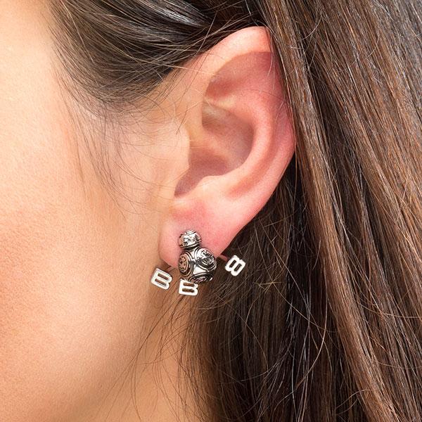 Star Wars BB-8 Ear Jacket Earrings at ThinkGeek