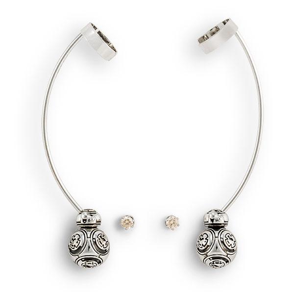 Star Wars BB-8 earring cuff set at ThinkGeek