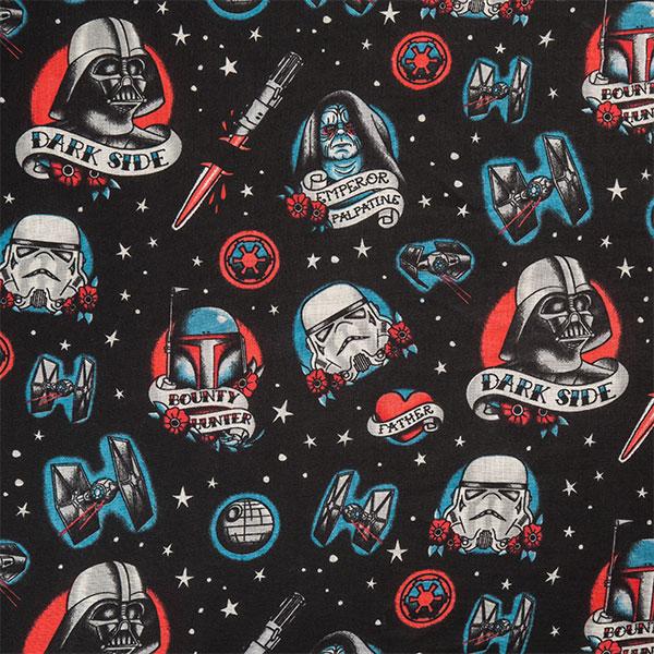Star Wars Dark Side Tattoo Lightweight Scarf at ThinkGeek