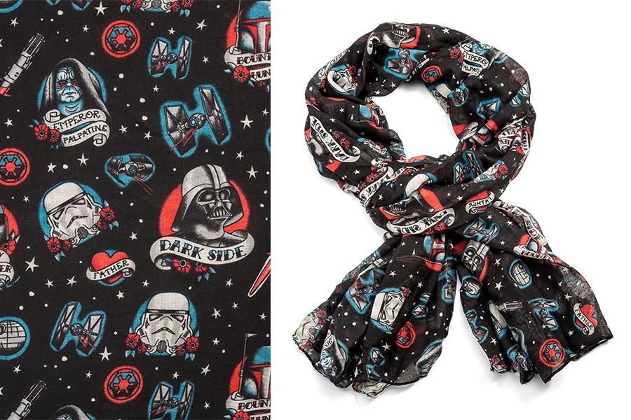 Star Wars Dark Side Tattoo Lightweight Scarf