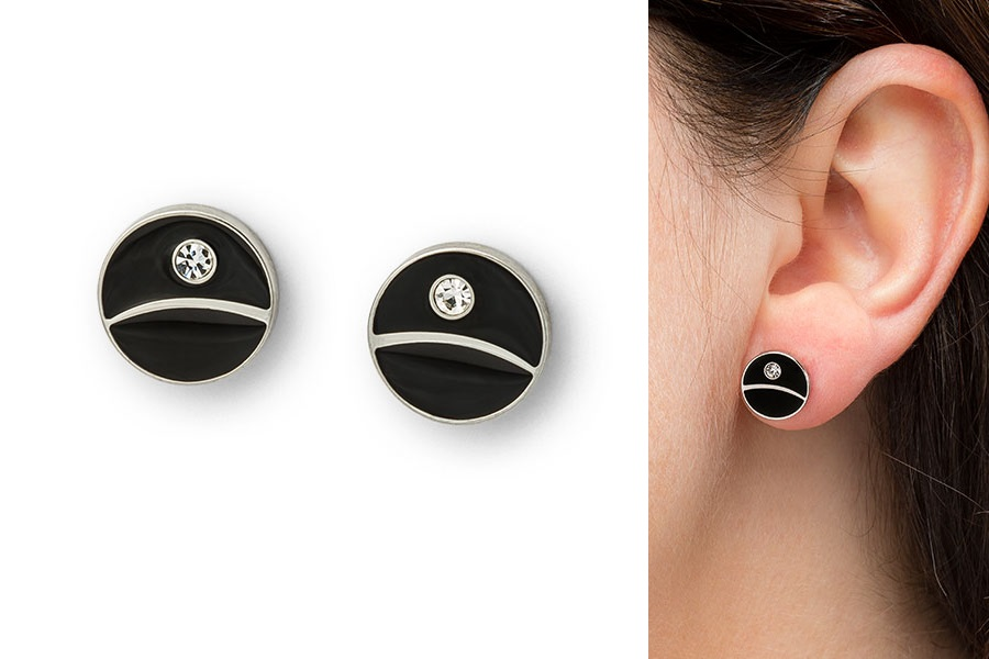 ThinkGeek Exclusive Death Star Stud Earrings