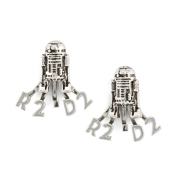 Star Wars R2-D2 Ear Jacket Earrings at ThinkGeek