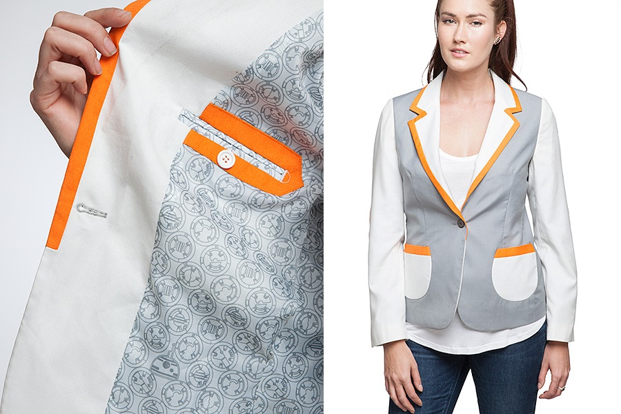 Women's Star Wars BB-8 Blazer at ThinkGeek