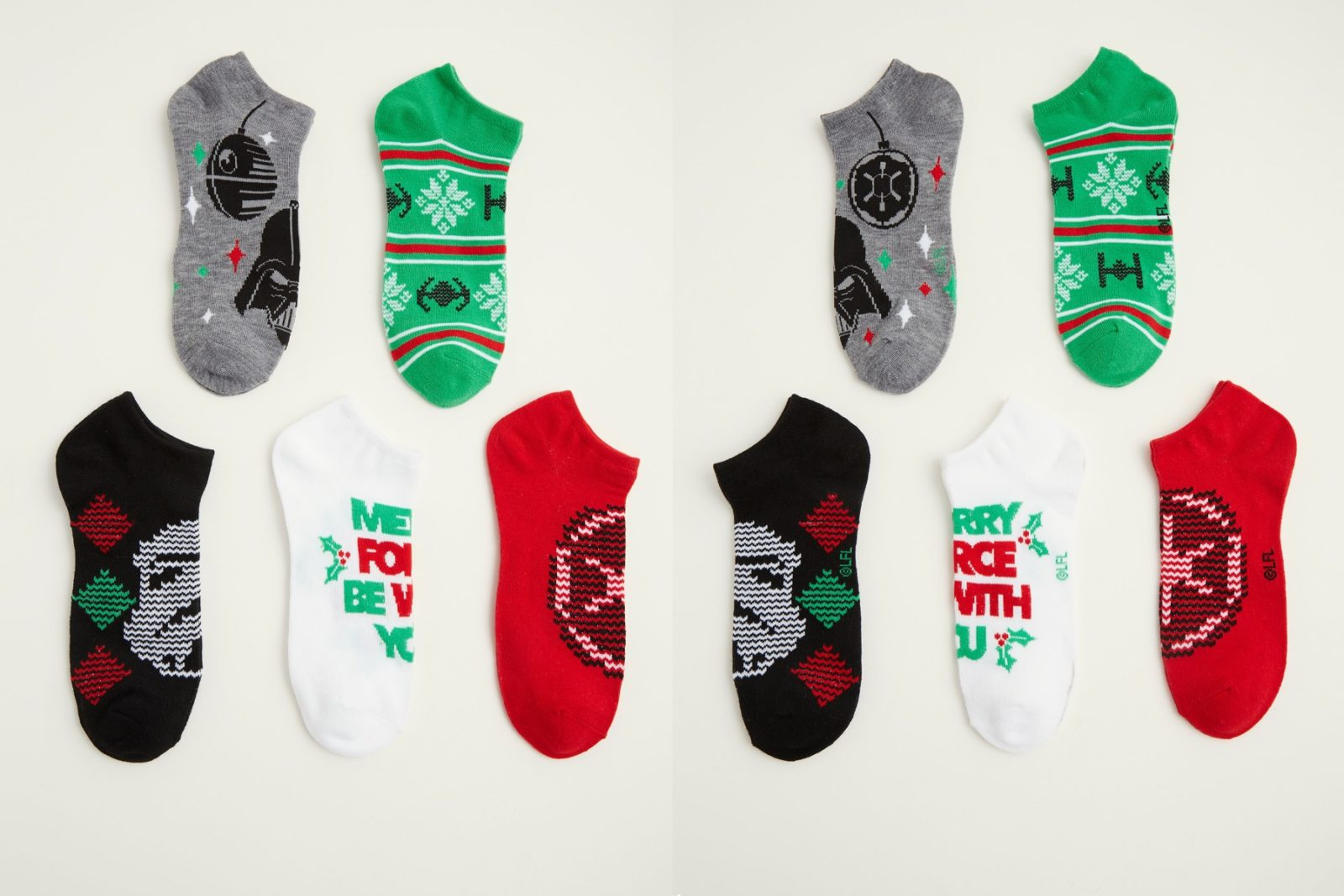 Women's Star Wars Christmas Ankle Sock Pack