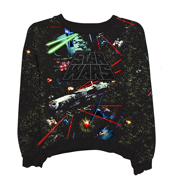 Women's Freeze x Star Wars Millennium Falcon Space Battle sweatshirt at Zulily