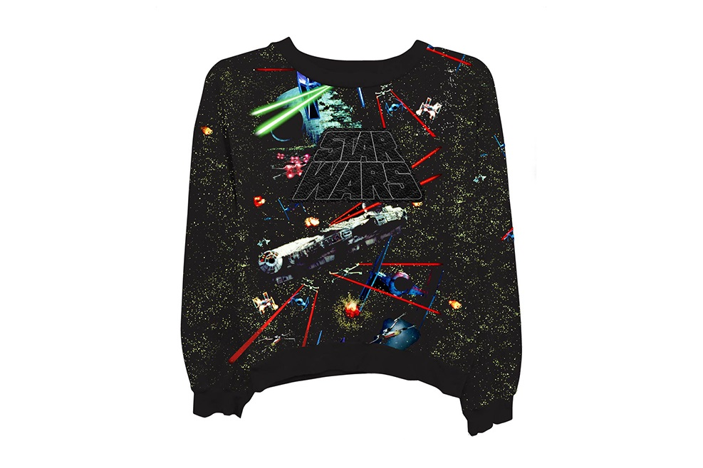 Women's Millennium Falcon Crewneck Sweatshirt