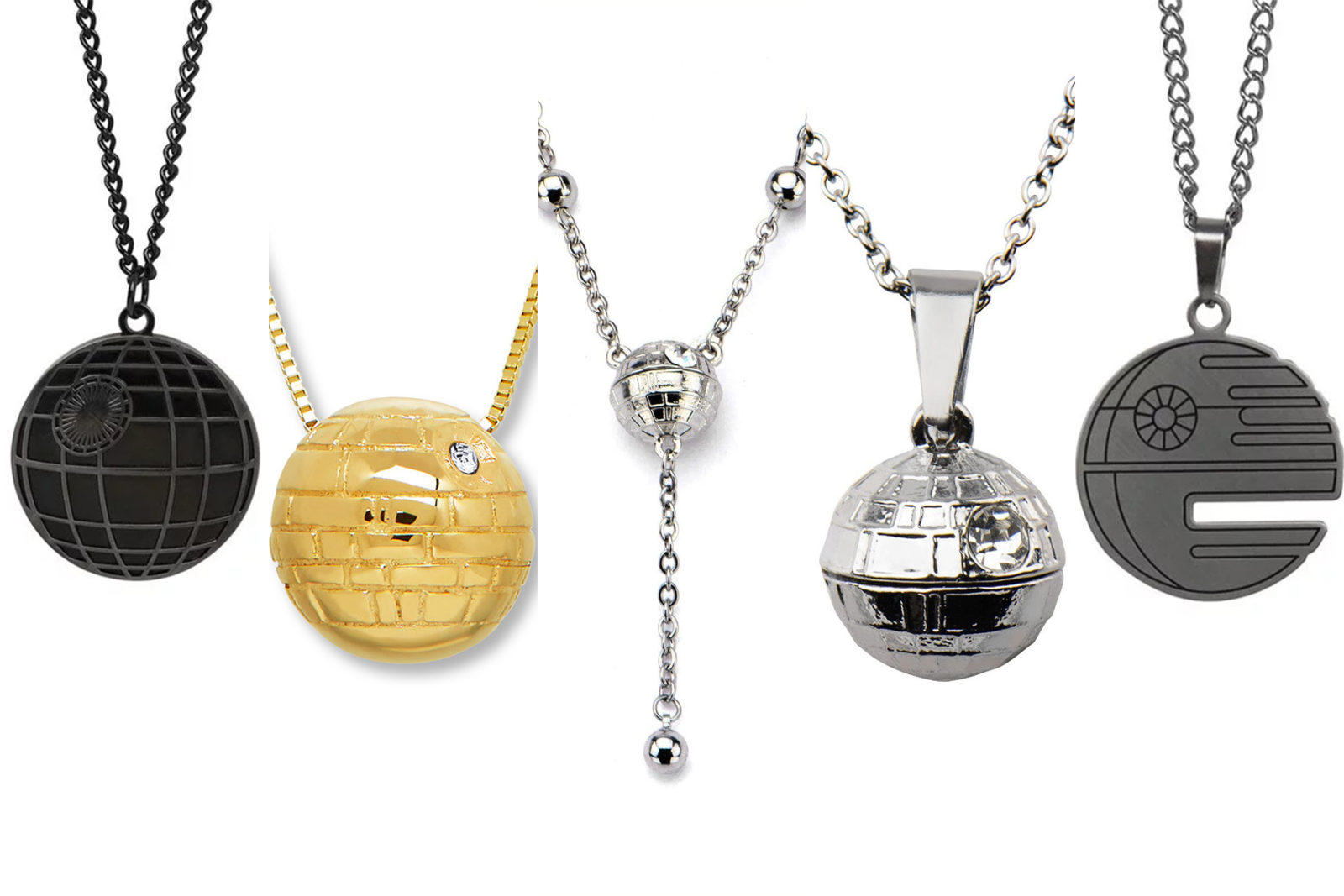Leia's List – Death Star Necklaces