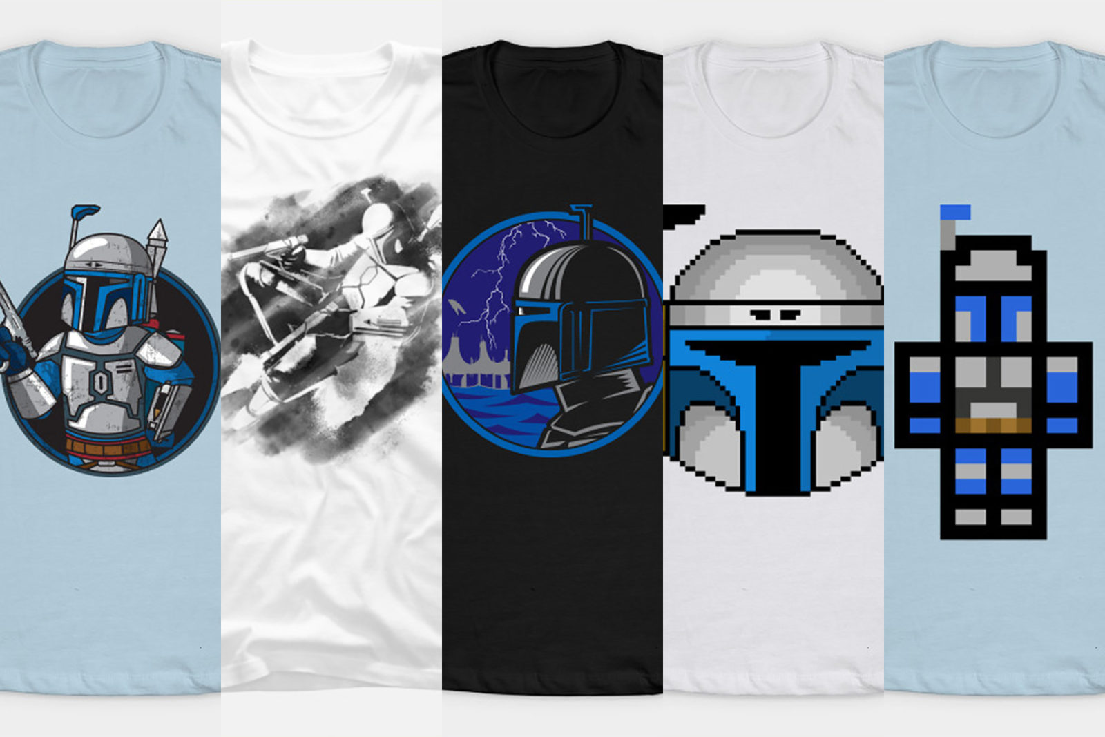 Leia's List – Women's Jango Fett Themed T-Shirts