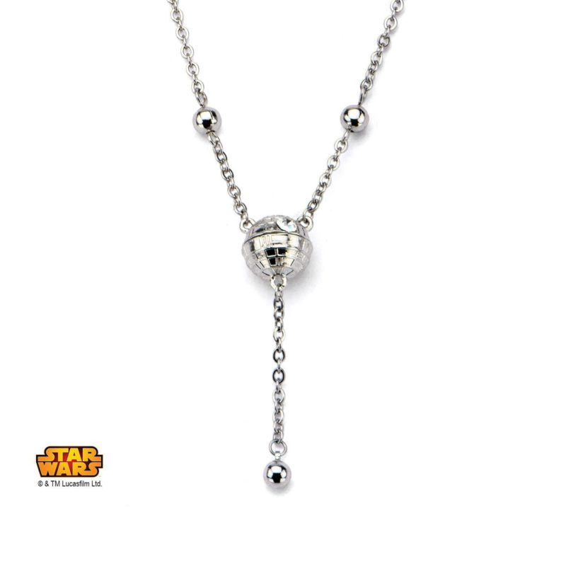 Leia's List - Body Vibe x Star Wars Death Star necklace at Amazon