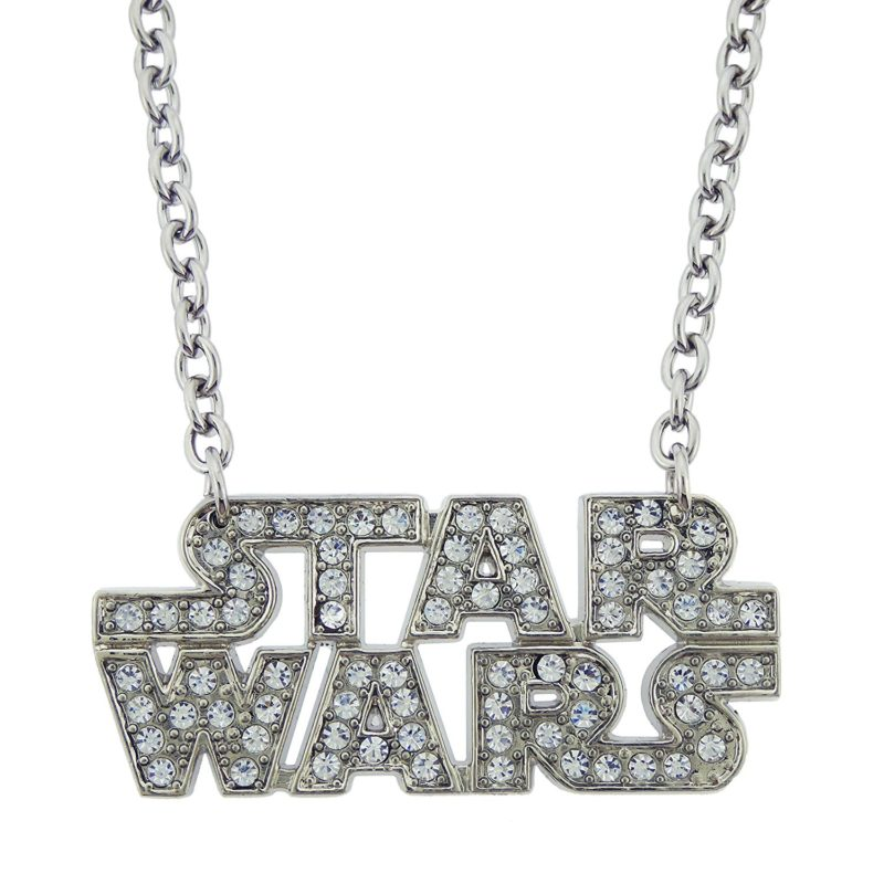 Leia's List - Rock Rebel x Star Wars bling logo necklace at Amazon