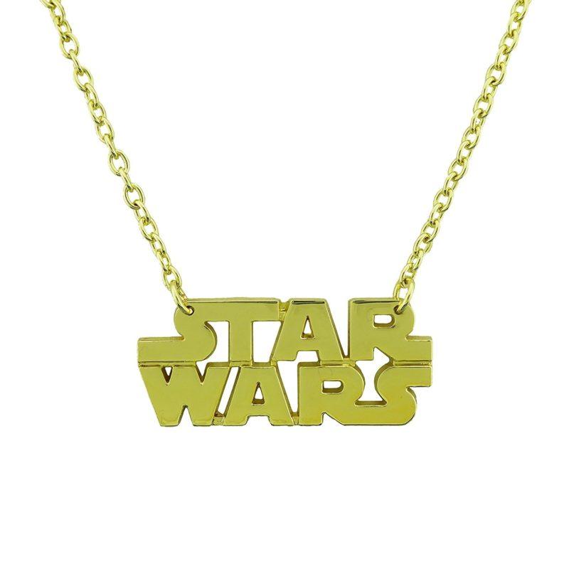 Leia's List - Rock Rebel x Star Wars logo necklace at Amazon