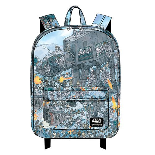 New Loungefly x Star Wars printed nylon backpacks at Entertainment Earth